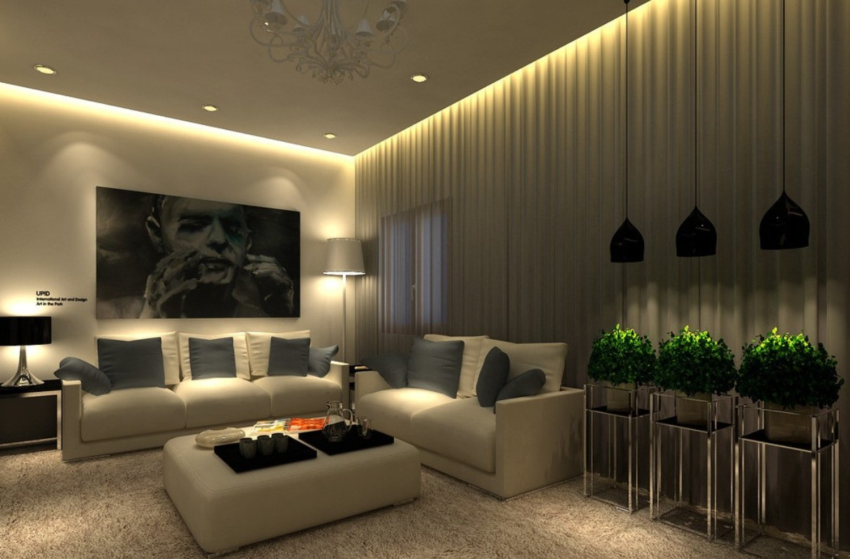 Best-Living-Room-Ceiling-Lights-Design-Ideas-Home-Interior-Light-Fixture-Modern-Lighting-LED-Bulb-Lamp-Chandeliers-Rug-Painting-Sofa-Set-Pillows-Table-Lamps-Curtains-Decoration