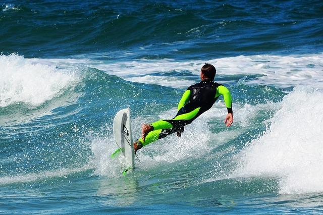 Zážitok zo surfovania