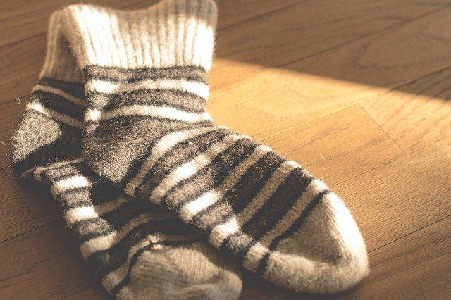 vlněné ponožky