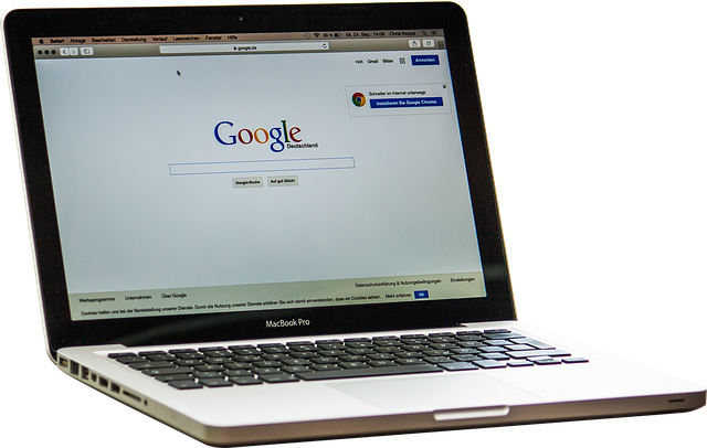 Macbook, vyhľadávač